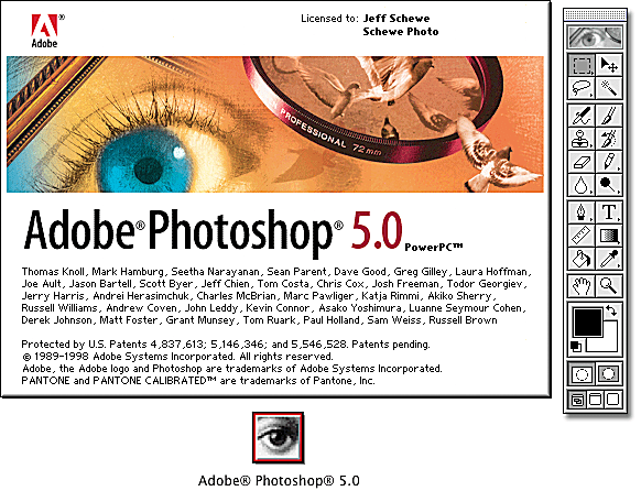 12) Photoshop 5.0 Features